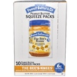 Peanut Butter & Co., Easy Squeezy, The Bee's Knees Peanut Butter , 10 Squeeze Packs, 1.15 oz (32 g) Each - iHerb.com