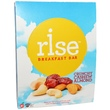 Rise Bar, Breakfast Bars, Crunchy Cashew Almond, 12 Bars, 1.4 oz (40 g) Each  - iHerb.com