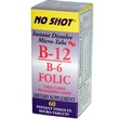Superior Source, B-12 / B-6 & Folic, 60 Tablets - iHerb.com