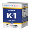 Superior Source, Vitamin K-1, 500 mcg, 90 Microlingual Instant Dissolve Tablets - iHerb.com