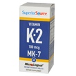 Superior Source, Vitamin K2, 100 mcg, 60 Microlingual Instant Dissolve Tablets - iHerb.com