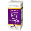 Superior Source, B-12 10,000 mcg / B-6 & Folic Acid 1,200 mcg, 30 MicroLingual Instant Dissolve Tablets - iHerb.com