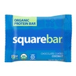 Squarebar, Organic Protein Bar, Chocolate Coated Coconut, 12 Bars, 1.7 oz (48 g) Each - iHerb.com