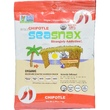 SeaSnax, Spicy Chipotle, Roasted Seaweed Snack, 5 sheets - .54 oz (15 g) - iHerb.com