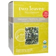 Two Leaves and a Bud, Organic Tropical Green Tea, 15 Sachets, 1.32 oz (37.5 g) - iHerb.com
