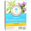 Traditional Medicinals, Organic EveryDay Detox Tea, Lemon, Caffeine Free, 16 Wrapped Tea Bags, .85 oz (24 g) - iHerb.com