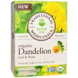 Traditional Medicinals, Organic Dandelion Leaf & Root Tea, Caffeine Free, 16 Wrapped Tea Bags, .99 oz (28 g) - iHerb.com
