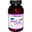 Twinlab, Daily Two Caps, With Iron, 180 Capsules - iHerb.com