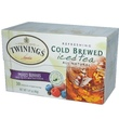 Twinings, Cold Brewed Iced Tea, Mixed Berries, 20 Tea Bags, 1.41 oz (40 g) - iHerb.com