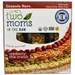 Two Moms in the Raw, Granola Bars, Cranberry Chia Crunch, 6 Bars, 1 oz (28 g) Each - iHerb.com