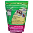 Wholesome Sweeteners, Inc., Organic Light Brown Sugar, 24 oz (681 g) - iHerb.com