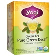 Yogi Tea, Green Tea, Pure Green Decaf, 16 Tea Bags, 1.09 oz (31 g) - iHerb.com