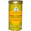 Zhena\'s Gypsy Tea, Lemon Jasmine, Green and White Tea, 22 Tea Sachets, 1.55 oz (44 g)  - iHerb.com