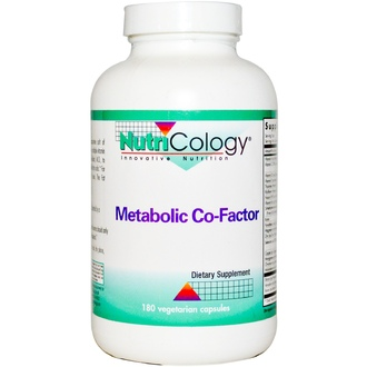 Nutricology, Metabolic Co-Factor, 180 Veggie Caps - iHerb.com