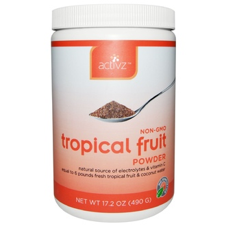 Activz, Tropical Fruit Powder, 17.2 oz (490 g) - iHerb.com