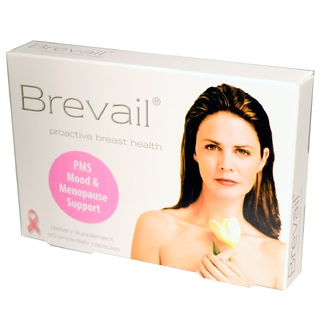 Barlean\'s, Brevail, Proactive Breast Health, 30 Once-Daily Capsules - iHerb.com