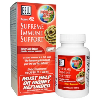Bell Lifestyle, Supreme Immune Support , 500 mg, 90 Capsules - iHerb.com