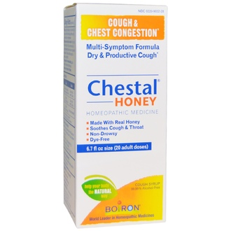 Boiron, Chestal Honey, Cough & Chest Congestion, 6.7 fl oz (20 adult doses) - iHerb.com