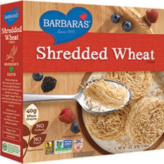 Barbara\'s Bakery, Shredded Wheat Cereal, 18 Biscuits, 13 oz (369 g) - iHerb.com