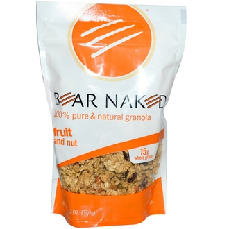 Bear Naked, 100% Pure & Natural Granola, Fruit and Nut, 12 oz (340 g) - iHerb.com