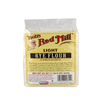 Bob\'s Red Mill, Light Rye Flour, 22 oz (622 g) - iHerb.com