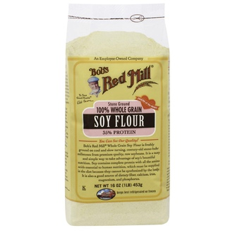 Bob\'s Red Mill, 100% Whole Grain Soy Flour, 16 oz (453 g) - iHerb.com