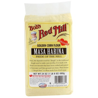 Bob\'s Red Mill, Masa Harina, Golden Corn Flour,  680 г - iHerb.com