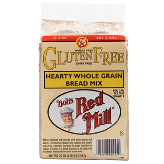 Bob\'s Red Mill, Hearty Whole Grain Bread Mix, Gluten Free, 20 oz (567 g) - iHerb.com