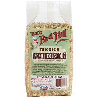 Bob\'s Red Mill, TriColor Pearl Couscous, 16 oz (453 g) - iHerb.com