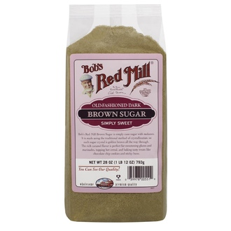 Bob\'s Red Mill, Old Fashioned Dark Brown Sugar, 28 oz (793 g) - iHerb.com