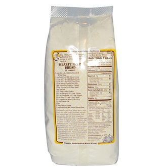 Bob\'s Red Mill, Organic, White Flour, Unbromated Unbleached, 24 oz (680 g) - iHerb.com