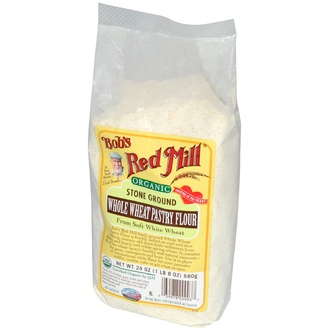 Bob\'s Red Mill, Organic, Whole Wheat Pastry Flour, 24 oz (680 g) - iHerb.com