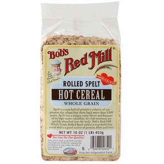 Bob\'s Red Mill, Rolled Spelt, Hot Cereal, 16 oz (453 g) - iHerb.com