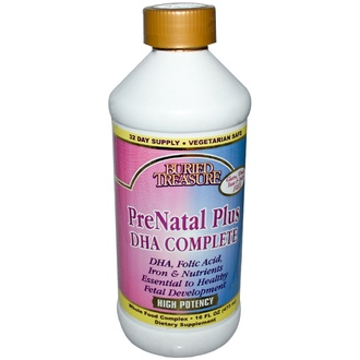 Buried Treasure, Prenatal Plus, DHA Complete, 16 жидких унций (473 мл) - iHerb.com