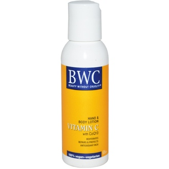 Beauty Without Cruelty, Hand & Body Lotion, Vitamin C With CoQ10, 2 fl oz (59 ml) - iHerb.com