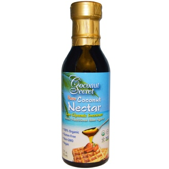 Coconut Secret, Raw Coconut Nectar, Low Glycemic Sweetener, 12 fl oz (355 ml) - iHerb.com