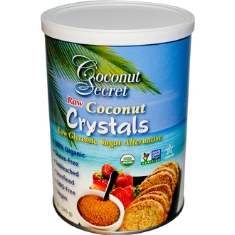 Coconut Secret, Raw Coconut Crystals, 12 oz (340 g) - iHerb.com
