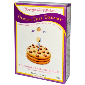 Cherrybrook Kitchen, Gluten Free Dreams, Chocolate Chip Cookie Mix, 14.1 oz (400 g) - iHerb.com