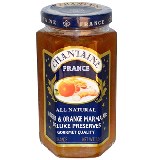 Chantaine, Deluxe Preserves, Ginger & Orange Marmalade, 11.5 oz (325 g) - iHerb.com