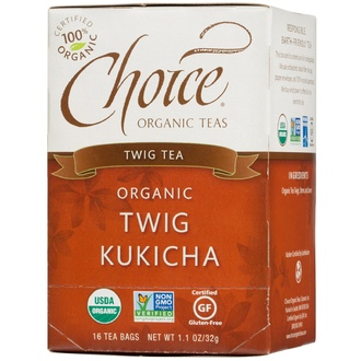 Choice Organic Teas, Organic, Twig Tea, 16 Tea Bags, 1.1 oz (32 g) - iHerb.com