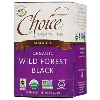 Choice Organic Teas, Wild Forest Black Tea, 16 Tea Bags, 1.1 oz (32 g) - iHerb.com