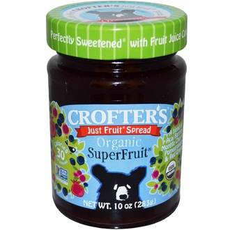 Crofter\'s Organic, Organic, Just Fruit Spread, Superfruit, 10 oz (283 g) - iHerb.com