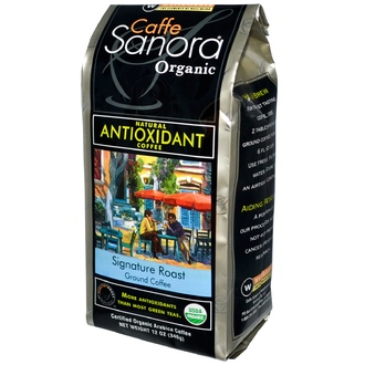 Caffe Sanora, Organic, Signature Roast, Ground Coffee, 12 oz (340 g) - iHerb.com