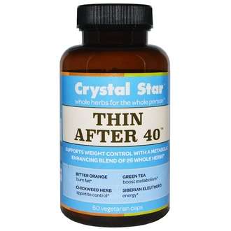 Crystal Star, Thin After 40, 60 Veggie Caps - iHerb.com