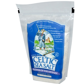 Celtic Sea Salt, Морская соль Flower of the Ocean, 454 г  - iHerb.com