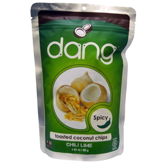 Dang Foods LLC, Toasted Coconut Chips, Chili Lime, 2.82 oz (80 g) - iHerb.com