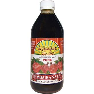 Dynamic Health  Laboratories, Pure Pomegranate Juice Concentrate, 16 fl oz (473 ml) - iHerb.com
