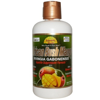 Dynamic Health  Laboratories, African Bush Mango Juice Blend, Mango Flavor, 32 fl oz (946 ml) - iHerb.com