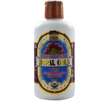 Dynamic Health  Laboratories, Organic Certified Nopal Gold, 32 fl oz (946 ml) - iHerb.com