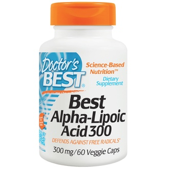 Doctor\'s Best, Best Alpha-Lipoic Acid 300, 300 mg, 60 Veggie Caps - iHerb.com